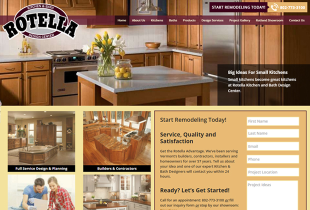 Home Rotella Kitchen And Bath Design Center Website. Image