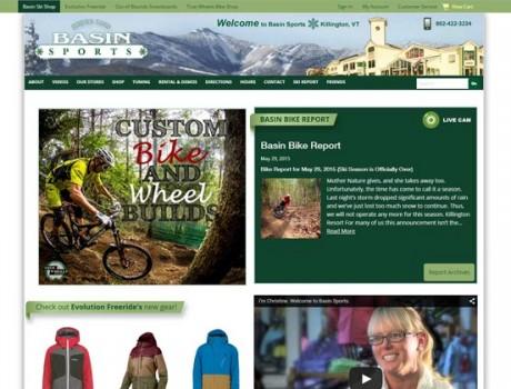 Basin Sports Web Design & Development