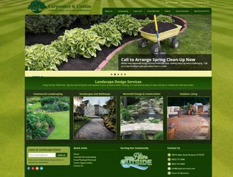 Carpenter & Costin — Landscaping Website Design