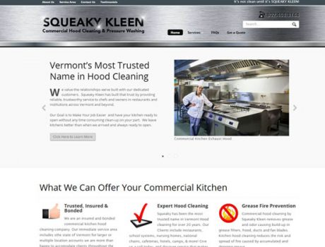 Squeeky Kleen  – Commercial Hood Cleaning Service