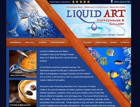 Liquid Art Coffeehouse & Gallery