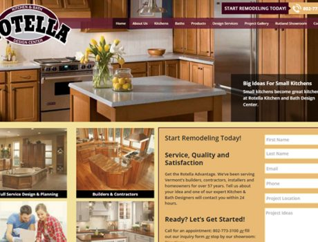 Rotella Kitchen and Bath Design Center Website